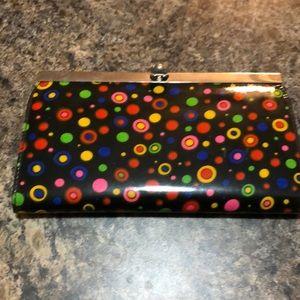 Polka dot clutch/wallet